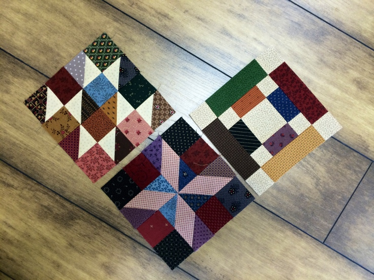 MODA Shuffle Blocks 1 ,2, 3